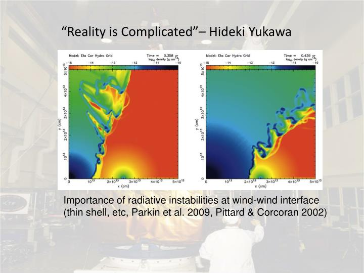"""Reality is Complicated""– Hideki Yukawa"