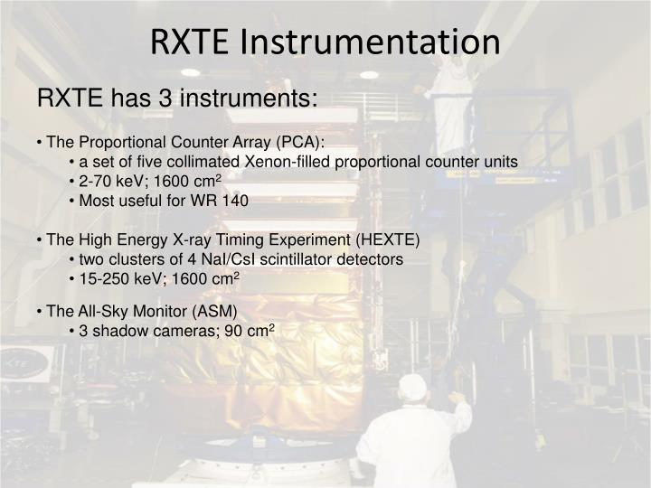 RXTE Instrumentation