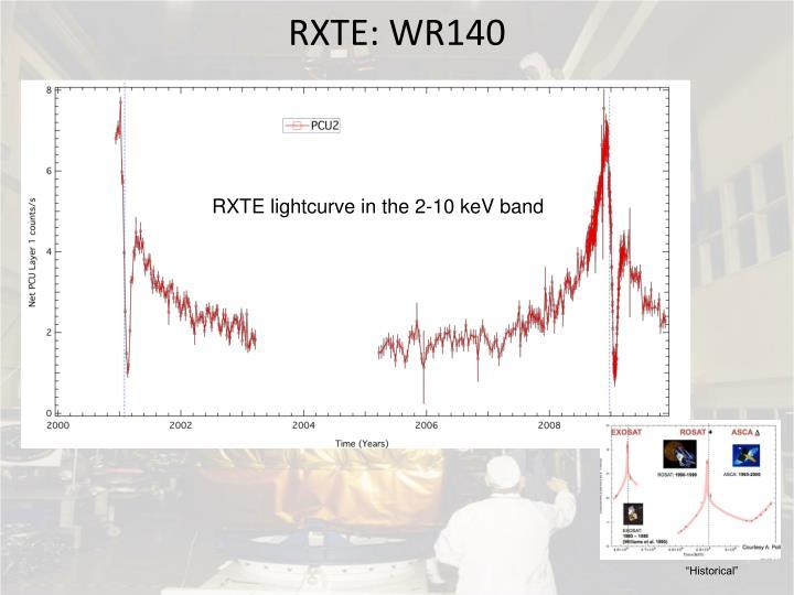 RXTE: WR140