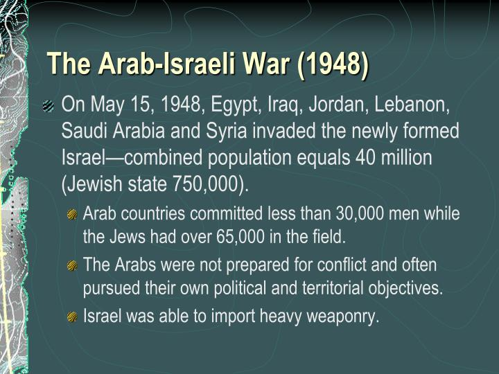 why has the arab israeli conflict been so persistent Middle east conflict questions and answers - discover the enotescom community of teachers why has the arab-israeli conflict been so persistent.