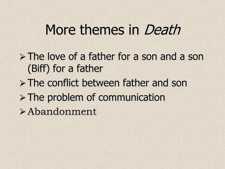 the theme of relationships in death of a salesman by arthur miller Conflict in 'the death of a salesman'  1 of the death of a salesman by arthur miller the conflict in act 1 of death of salesman is quite a strong theme.