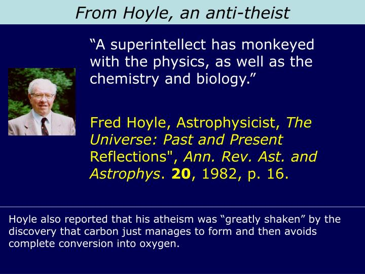 From Hoyle, an anti-theist
