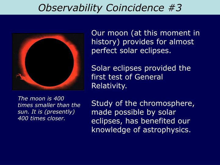 Observability Coincidence #3