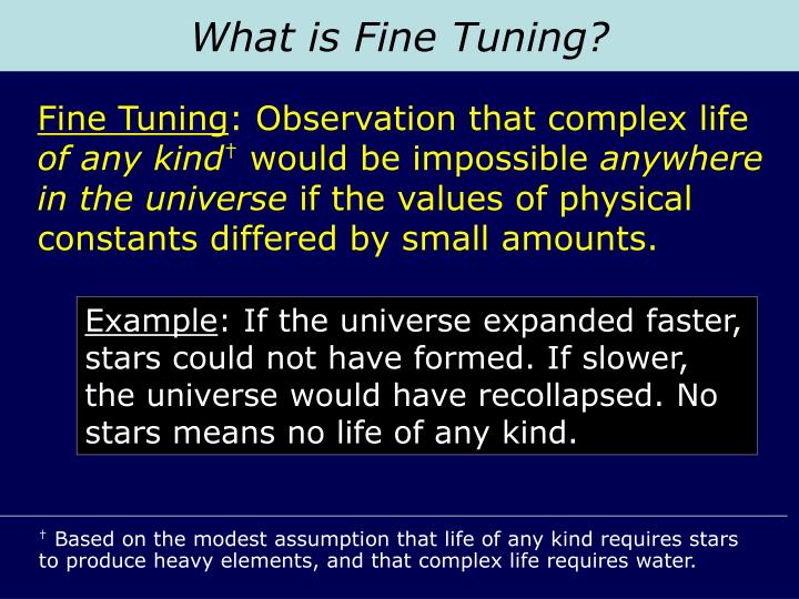 What is Fine Tuning?