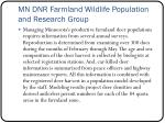 mn dnr farmland wildlife population and research group1