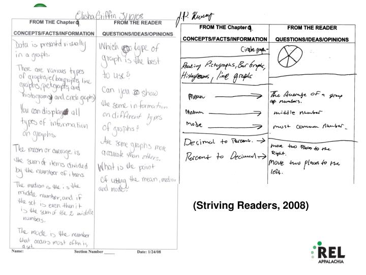 (Striving Readers, 2008)