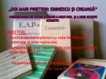 doi mari prieteni eminescu i creang prezentarea de c tre colari a unui dvd i a unei scurte scenete