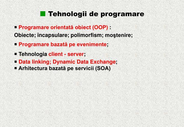 Tehnologii de p