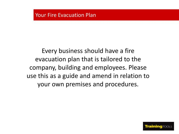 Your Fire Evacuation Plan