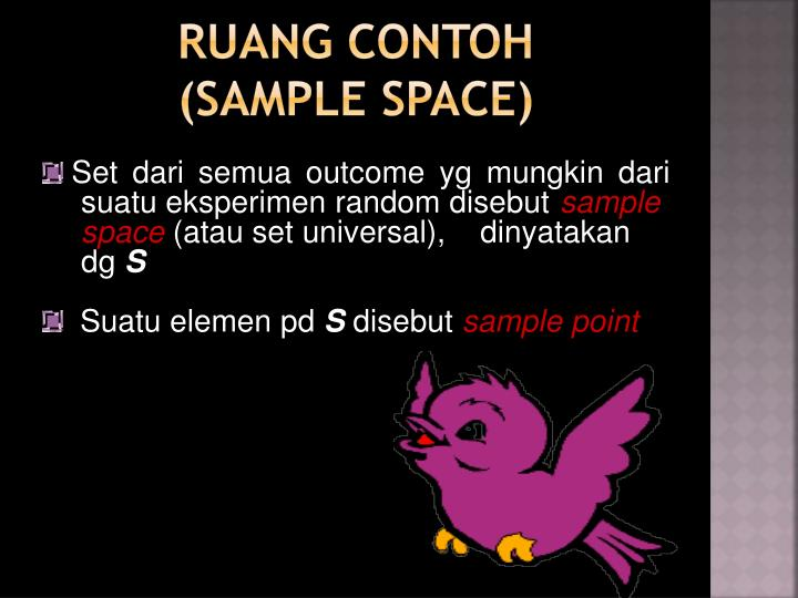 Ruang contoh sample space
