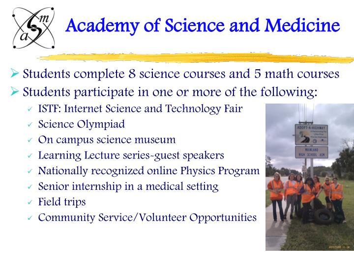 Academy of Science and Medicine