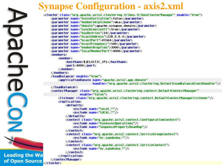 Synapse Configuration - axis2.xml