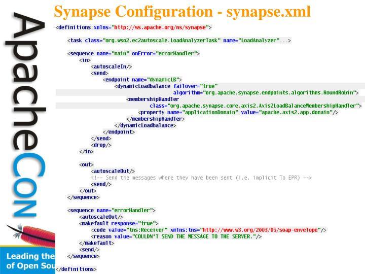 Synapse Configuration - synapse.xml