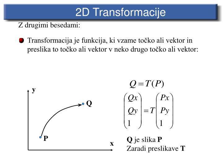 2D Transforma