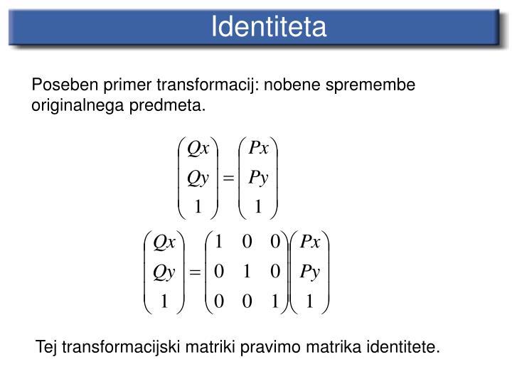 Identit