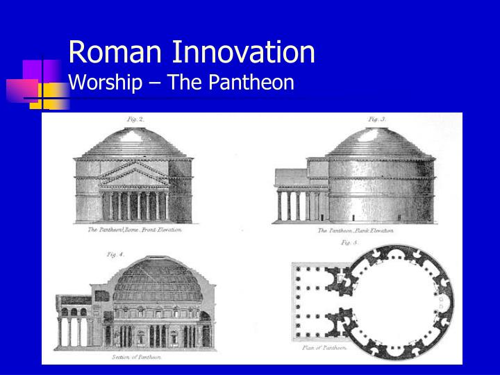 innovation in religious roman architecture Religious innovation in the ancient mediterranean roman religion, innovation, mysteries, religious change, ancient mediterranean access to the complete content on oxford research encyclopedia of religion requires a subscription or purchase.