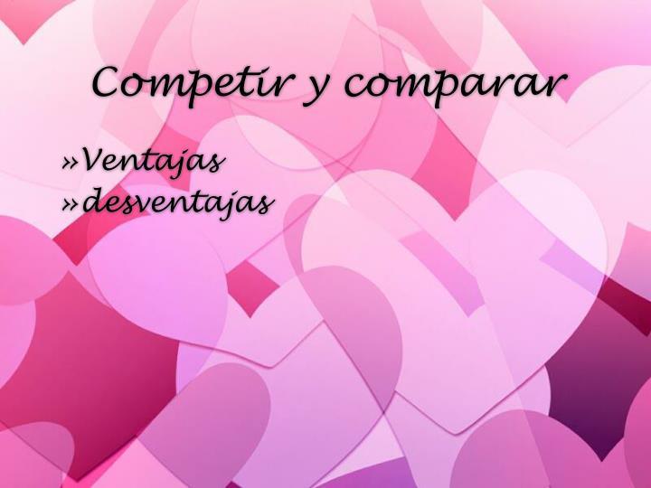 Competir y comparar