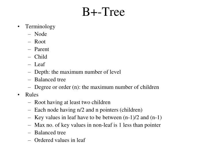 B+-Tree