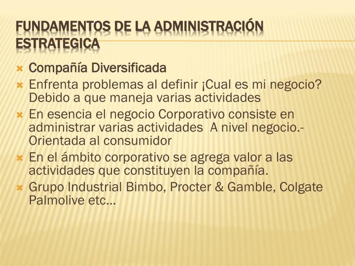 Compañía Diversificada