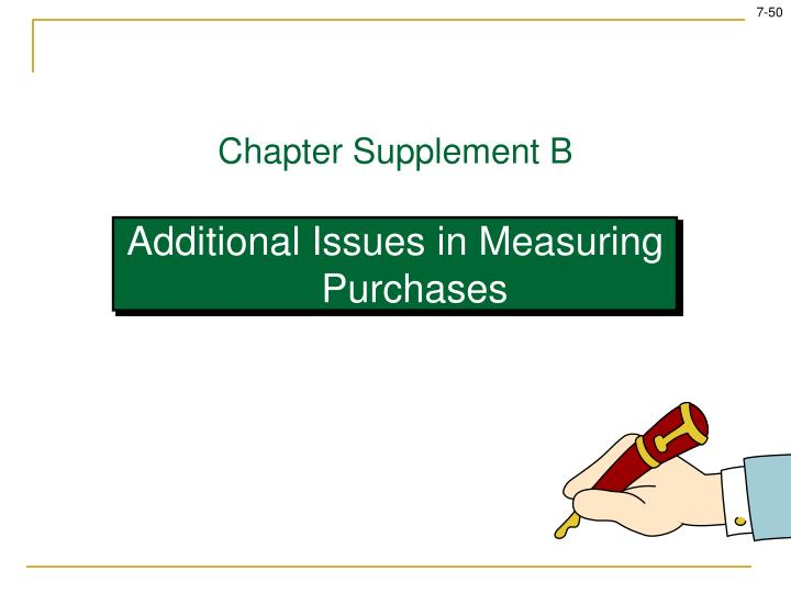 Chapter Supplement B