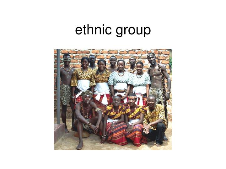 ethnic group