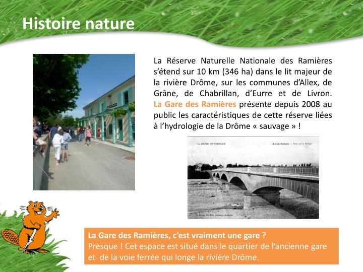 Histoire nature