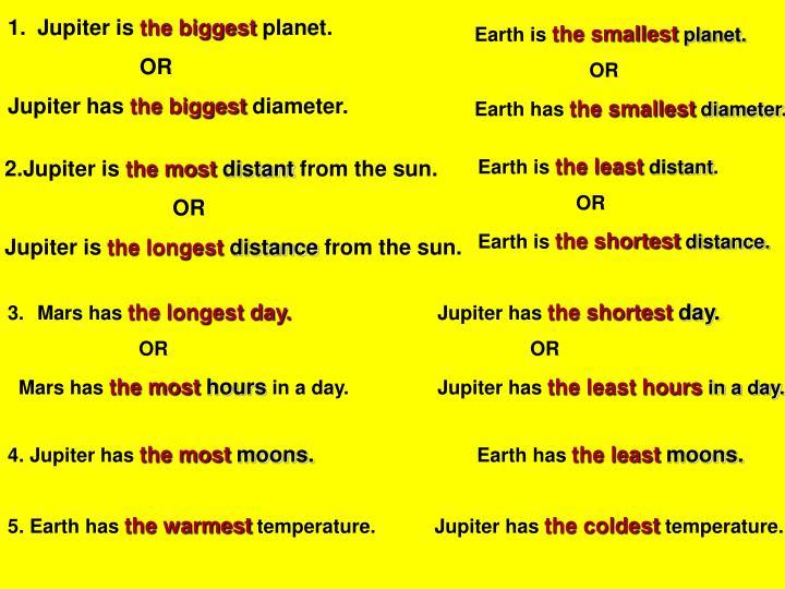 Jupiter is