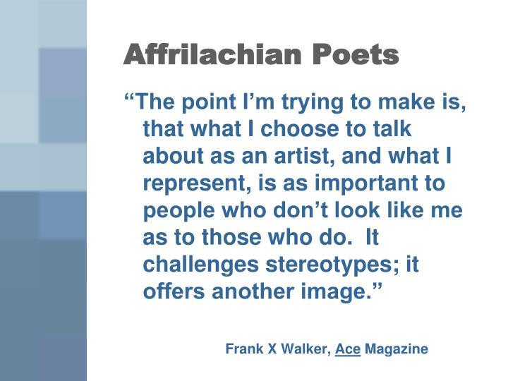 Affrilachian Poets