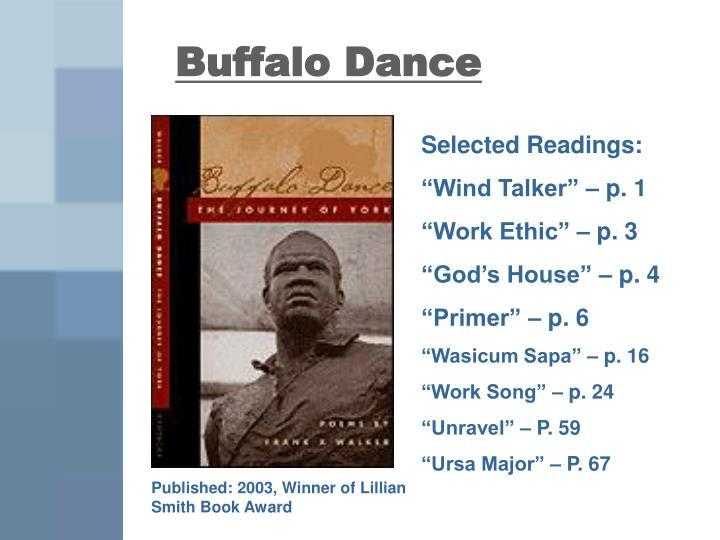 Buffalo Dance