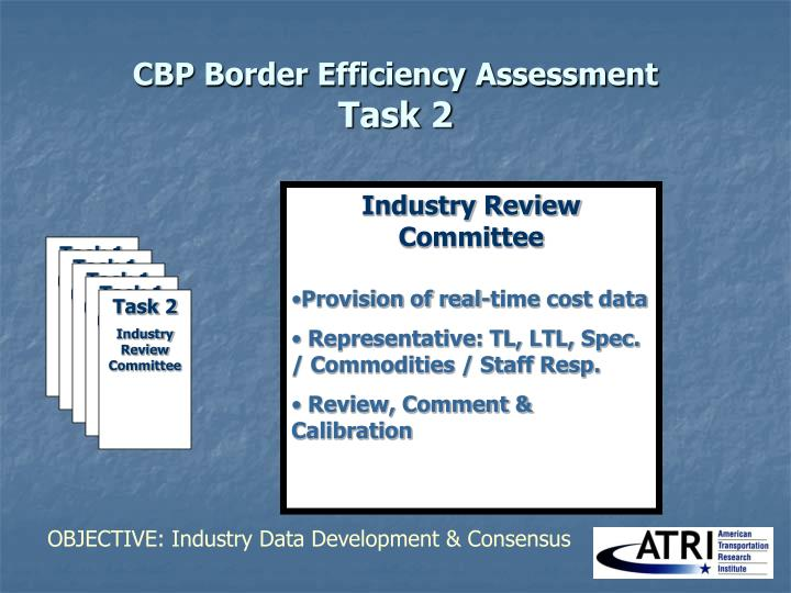CBP Border Efficiency Assessment