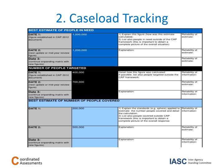 2. Caseload