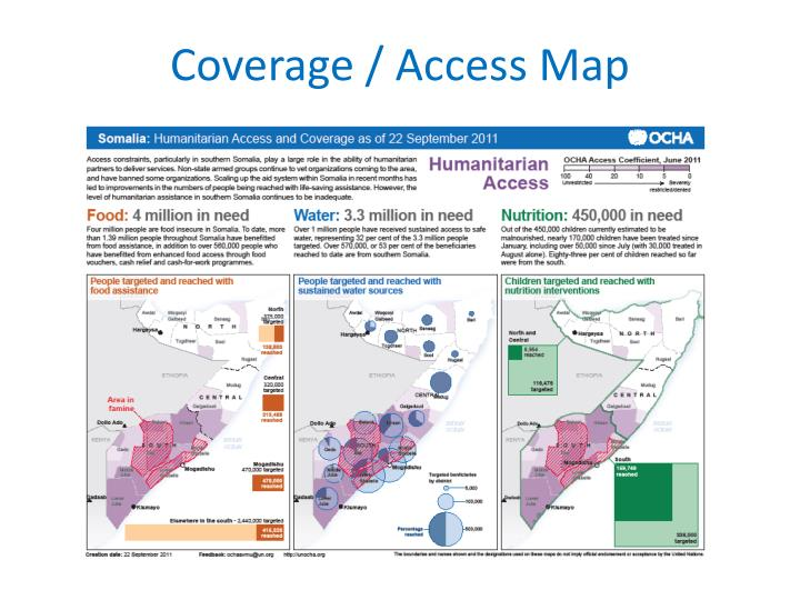 Coverage / Access Map