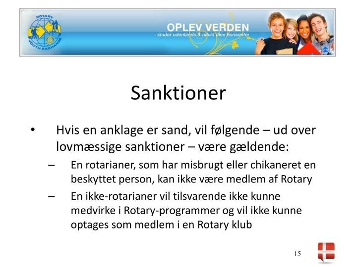 Sanktioner