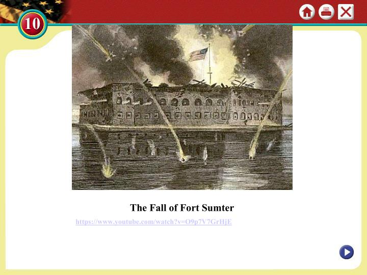 The Fall of Fort Sumter