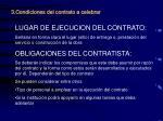 3 condiciones del contrato a celebrar1