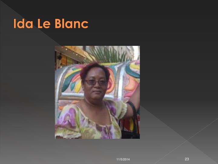 Ida Le Blanc