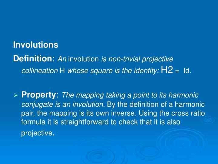 Involutions