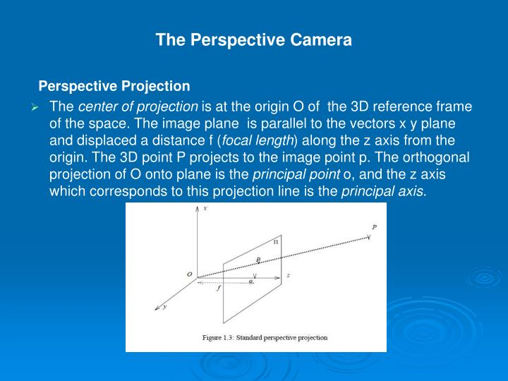The Perspective Camera
