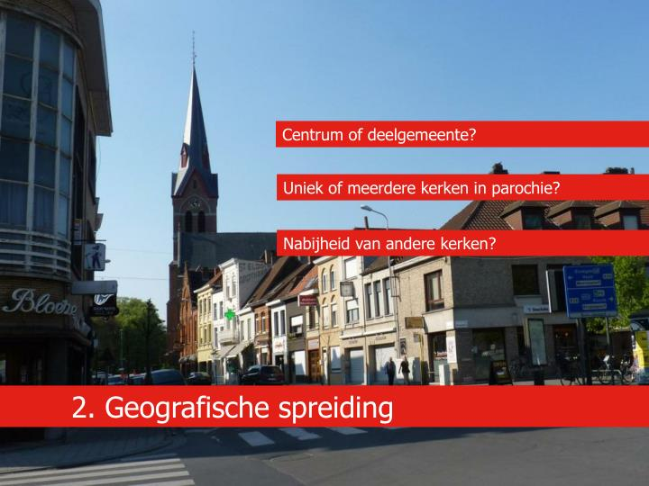 Centrum of deelgemeente?