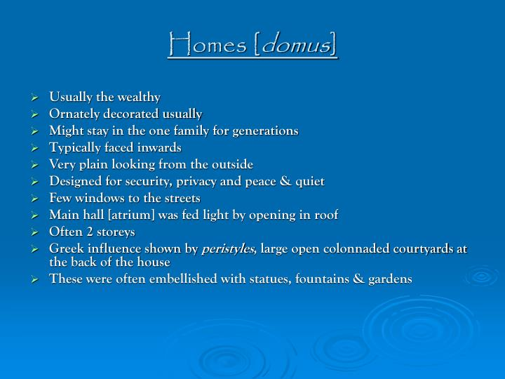 Homes [