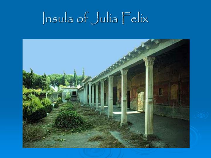 Insula of Julia Felix