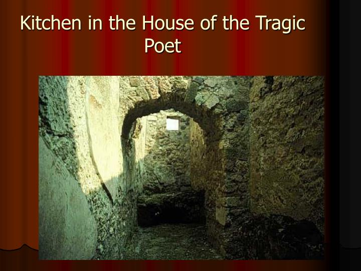 Kitchen in the House of the Tragic Poet