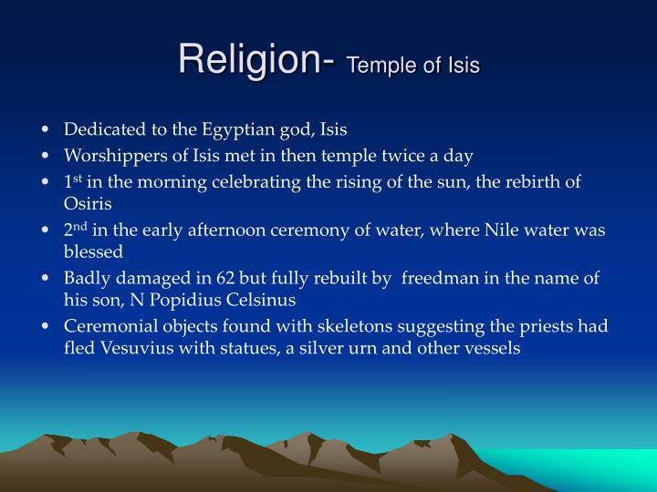 Religion-