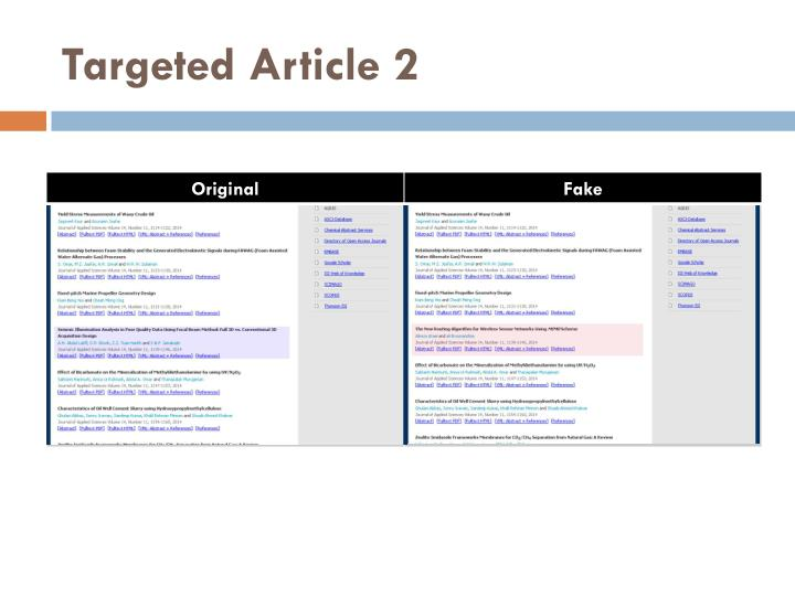 Targeted Article 2