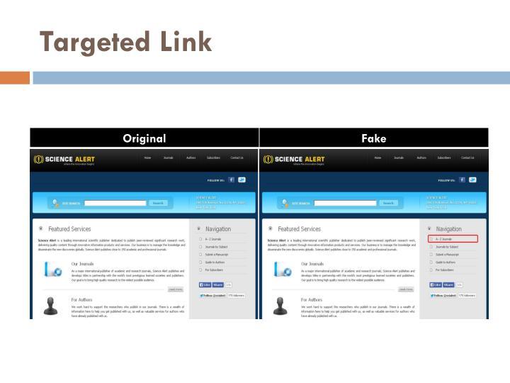 Targeted Link