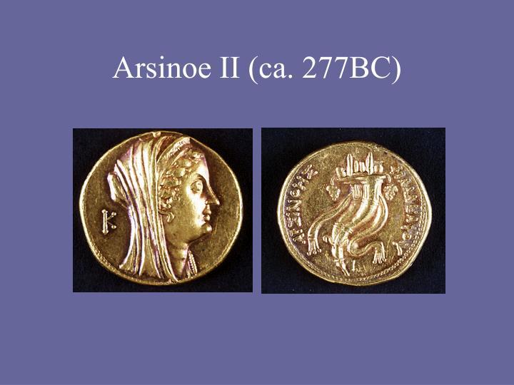 Arsinoe II (ca. 277BC)