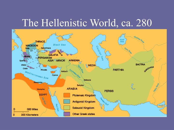The Hellenistic World, ca. 280