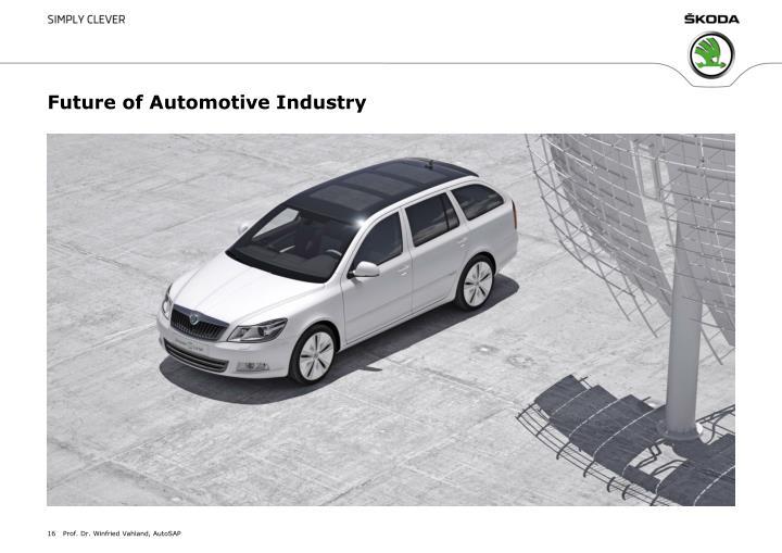 Future of Automotive Industry