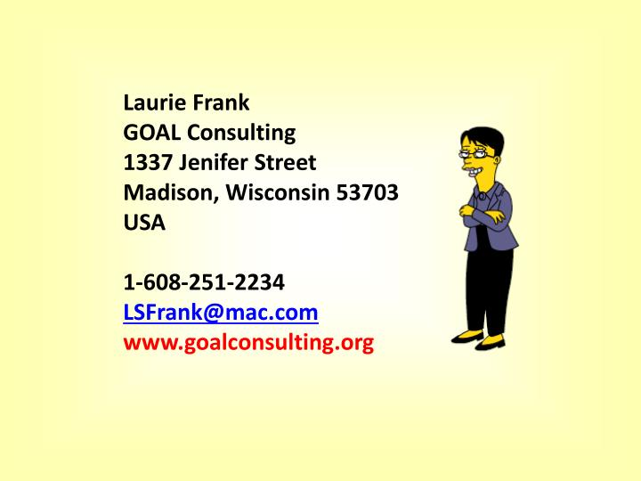 Laurie Frank