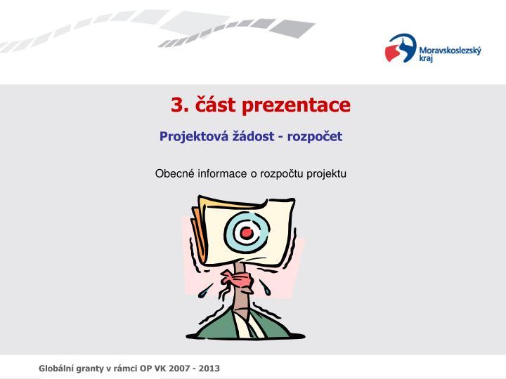 3. část prezentace
